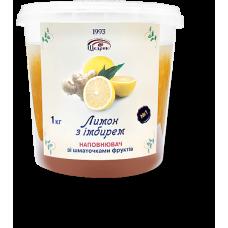 Наповнювач зі шматочками фруктів «Лимон з імбирем»