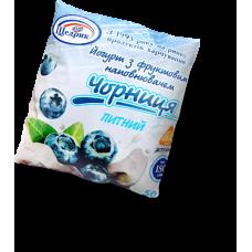 Йогурт питний термостатний фруктово-ягідний (Чорниця) 2,5%