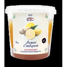 Наповнювач зі шматочками фруктів «Лимон з імбирем» 1000 г